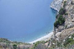 Geïsoleerds strand Stock Foto