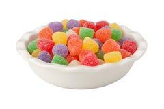 Geïsoleerds suikergoed royalty-vrije stock foto's