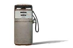 Geïsoleerds Uitstekend Benzinestation Royalty-vrije Stock Foto