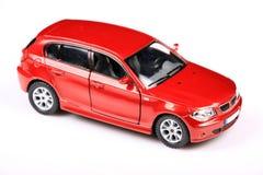 Geïsoleerdt BMW 1 reeks suv Royalty-vrije Stock Foto's