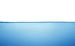 Geïsoleerdt water Stock Afbeelding