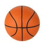 Geïsoleerdw basketbal Stock Afbeelding