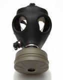 Geïsoleerdw gasmasker + schaduw Royalty-vrije Stock Fotografie