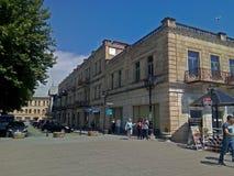 Geórgia, cidade de Kutaisi, a cidade real fotos de stock royalty free