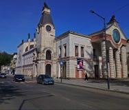 Geórgia, o salão o mais velho da ópera de Kutaisi da cidade imagem de stock