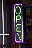 Geöffnet Lizenzfreies Stockbild