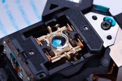 Geöffnete Ansicht Lasers Kopf Lizenzfreie Stockfotos