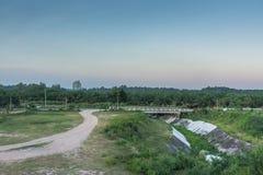 Geöffnete Luft des Panoramas Lizenzfreies Stockbild