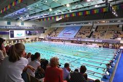 Geöffnete Meisterschaft von Russland auf Schwimmen Lizenzfreie Stockfotos