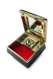 Geöffnete Spieluhr Lizenzfreies Stockfoto