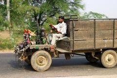 Geöffneter LKW des Inders Stockbilder