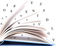Geöffnetes Buch Lizenzfreie Stockbilder