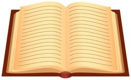 Geöffnetes Buch vektor abbildung