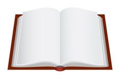 Geöffnetes Buch stock abbildung