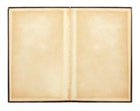Geöffnetes Buch Alte Papierbeschaffenheit Lizenzfreie Stockfotos