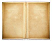 Geöffnetes Buch Alte Papierbeschaffenheit Stockbild