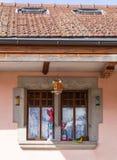 Geöffnetes Fenster Stockbild