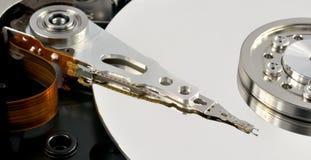 Geöffnetes Festplattenlaufwerk Stockfoto