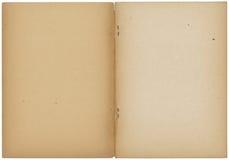 Geöffnetes Weinleseanmerkungsbuch Lizenzfreie Stockbilder