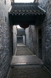 Ge庭院在扬州,江苏,中国 免版税库存图片