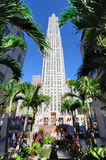 GE Building at Rockefeller Center Stock Photography