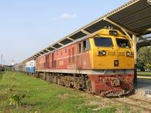 GE Diesel Locomotive NO 4556. Royalty Free Stock Image