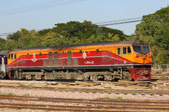 Ge Diesel locomotive no.4542 Royalty Free Stock Photography