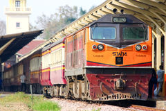 Ge Diesel locomotive no.4559 Royalty Free Stock Photo