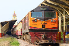 Ge Diesel locomotive no.4559 Royalty Free Stock Images