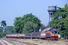 Ge Diesel locomotive no.4553 Stock Photo