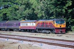 Ge Diesel locomotive no.4553 Royalty Free Stock Image