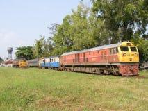 GE diesel- lokomotiv INGA 4551 Arkivbild