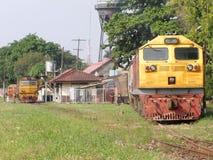 GE diesel- lokomotiv INGA 4551 Arkivbilder