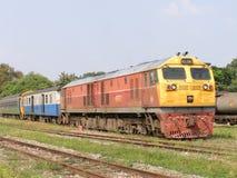 GE diesel- lokomotiv INGA 4551 Fotografering för Bildbyråer