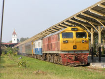 GE diesel- lokomotiv INGA 4556 Royaltyfria Bilder