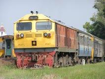 GE diesel- lokomotiv NO4547 Royaltyfria Bilder