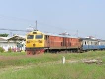 GE diesel- lokomotiv NO4547 Arkivbilder