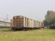 Ge Dieslowska lokomotywa żadny 4552 Pracujący W Chiangmai staci jardzie Obraz Royalty Free