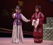 """ge en västra Chamber†för förklaringsHong Niang-Kunqu Opera """"the  Royaltyfria Bilder"""