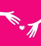 ge förälskelse vektor illustrationer