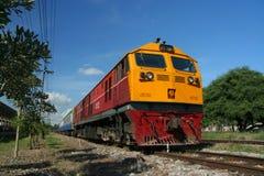 Ge (GEA) lokomotywa Obrazy Royalty Free