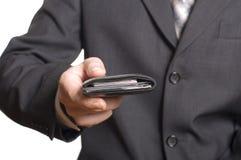 ge handmän s-plånboken Royaltyfria Foton