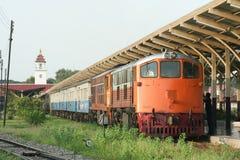 GE Locomotive No4047 For Train No14 Stock Photo