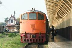 GE Locomotive No4047 For Train No14 Royalty Free Stock Image