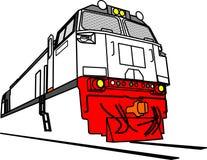 Ge-lokomotiv royaltyfri illustrationer