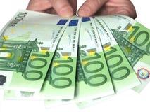 ge pengar dig Fotografering för Bildbyråer