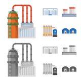 Ge?soleerd voorwerp van productie en structuursymbool r vector illustratie