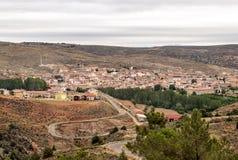 Gea de Albarracin village Stock Photo