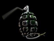Geactiveerde 3d granaat Stock Afbeeldingen
