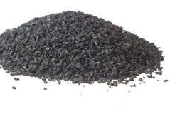 Geactiveerde Koolstofstapels royalty-vrije stock afbeelding